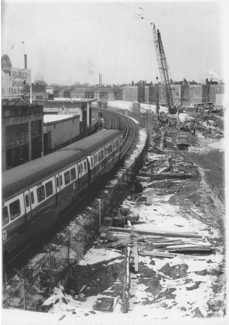 1970 March New MBTA Expansion Southeast Expressway Red Line
