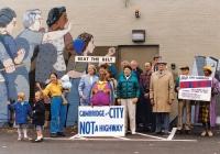 Cambridge Mural Protest